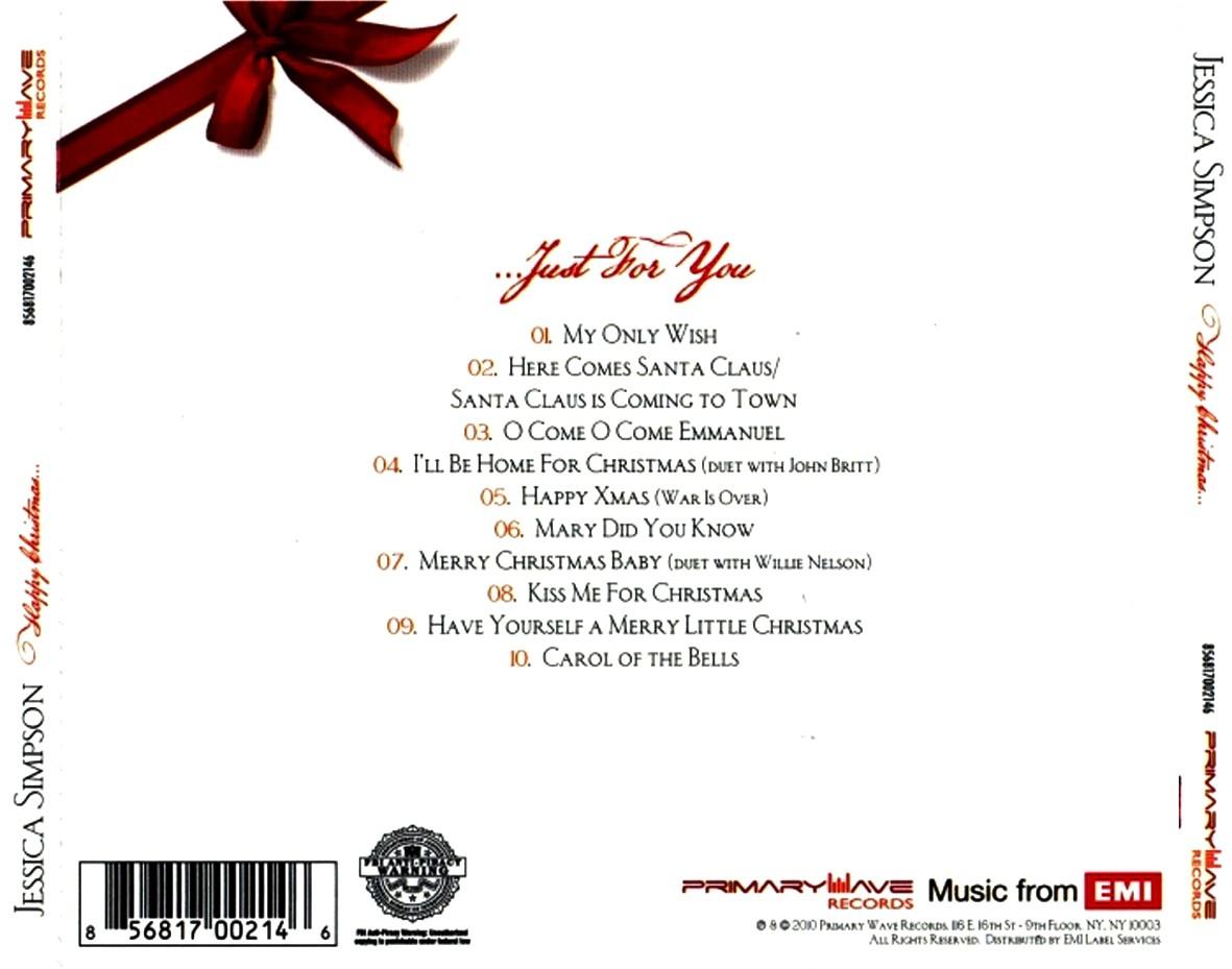 Jessica Simpson – Happy Christmas (2010) – m4life